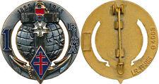 1° Régiment d'Infanterie de Marine, monobloc, LR PARIS 4663, ( réf 10042)