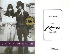 Patti Smith SIGNED IN PERSON~Just Kids~1st Edition HC + Photos!