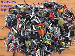 LEGO Technic - 500g of Spare Parts Random Pieces Axles Bulk Gear Job Lot - Clean