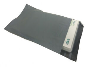 """*REDUCED* Grey Co-Ex Mailing Bags 9 x 12"""" (230 x 310mm) Perm Seal (pack 1000)"""