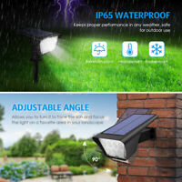 2*Power Solar 7&LED Landscape Spotlight Waterproof&IP65 Outdoor Garden Lawn Lamp
