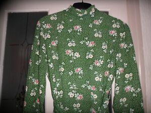 nasty gal   green / floral dress 12