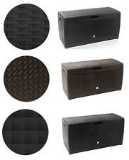 Auflagenbox Kiste Aufbewahrung Kissenbox Riesengrosse Gartenbox Truhe 3 Muster