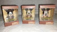 "Lot of Three 3"" Vinylmation Disney Figures The Mechanical Kingdom 2012 New"