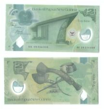 Papua New Guinea2 Kina Commemorative Polymer Banknote UNC   2008
