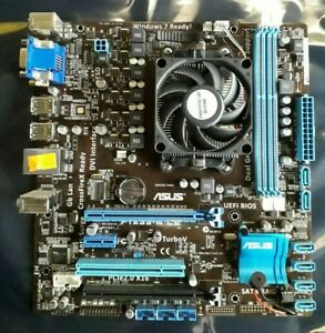 ASUS F1A55-M LE With AMD A6-3500 Micro ATX DDR3 With I/O SHIELD and Heat Sink