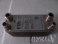 EVAPORATOR / CONDENSER 0.5 RT Brazed Plate Heat Exchanger BL14-40R (40 plates)