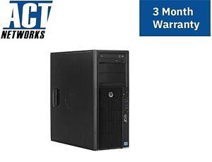 HP Z420 E5-1607v2 4C/4T 3Ghz 32GB 14900E Ram 256GB SSD K2000 600W W10P