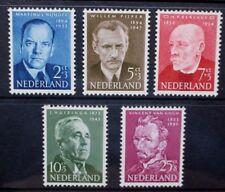 NETHERLANDS 1954 Cultural & Social Fund Portraits Set of 5 Mint HINGED SG796/800