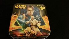 STAR WARS 500 PIECE PUZZLE TWO SIDED IN METAL BOX AGE 10+
