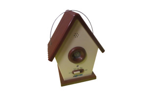 Dogtek Sonic Bird House Bark Control Indoor Outdoor Hanging Tested Low Med High