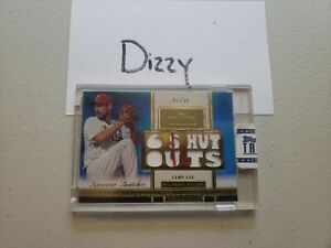 2012 Topps Tribute Superstar Swatches Blue /50 CLIFF LEE 6 Shout Outs Pls Read