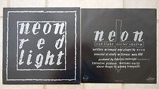 "NEON – Red Light   12""  Vinyl Maxi   orig. Spittle Depandance – SD 610 N"