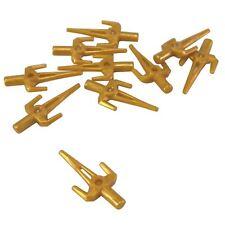 10 NEW LEGO Minifigure Weapon Sword Sai Pearl Gold