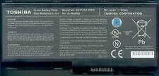 Batterie D'ORIGINE TOSHIBA Satellite P500 P505 PA3730U