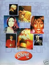Publicité advertising 2000 Radio Chérie FM