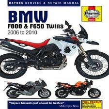 BMW F800 & F650 Twins: 2006 to 2010 (Haynes Service & Repair Manual), Mather, Ph