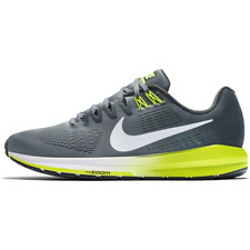 competitive price 015e8 7ca25 Nike Air Zoom Structure 21 WIDE 4E Mens Size 9 Running Shoes Gray Volt MSRP