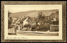 Wendover. View from High Street in Tuck Framed Sepia Series.
