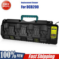Replacement Charger for DCB104 Dewalt 12V/20VMax 4-Port Li-Ion Fast Charger PB
