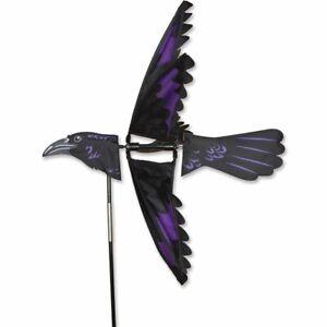 RAVEN Whirligig Wind Spinner Garden Stake by Premier Kites & Designs