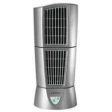 "Lasko Platinum Slim Compact 6"" x 14"" Office Desk Desktop Wind Tower Fan | 4910"