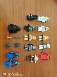 Mixed Job Lot Of star wars lego and lego type figures and bits  2 darth vader
