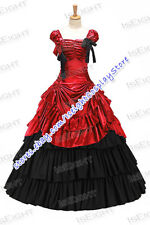 Vintage Renaissance Gothic Lolita Southern Belle Fancy Dress Long Sleeves Bow