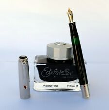 Pelikan M420 Special Edition Fountain Pen 18c Nib EF Sterling Silver Cap