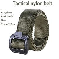 Arrampicata Cinghia Tattica Sport Outdoor Militare Nylon Cintura Moda Uomo