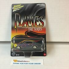 1966 Dodge Charger * Johnny Lightning FLAMES * BLOWOUT * YB4