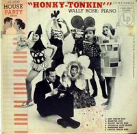 WALLY ROSE honky tonkin' LP VG+ 10 CL 2535 Vinyl 1955 Record