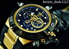 Invicta Men's Subaqua Noma IV Swiss Chronograph 18K Gold Plated Poly Strap Watch