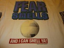 Fear Smells / Volleyball Vintage Shirt ( Used Size Xl ) Very Nice Condition!