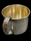 Vintage Sterling Silver 925 Baby Cup 60 Grams