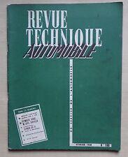 #) REVUE TECHNIQUE AUTO n° 166 chrysler plymouth soto dodge citroen DS 19 - 1960