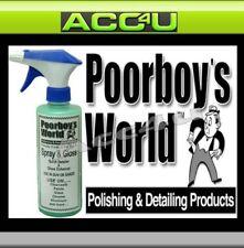Poorboy's Poorboys Mondial Peinture Auto Spray & Brillant Rapide Détail & Vernis