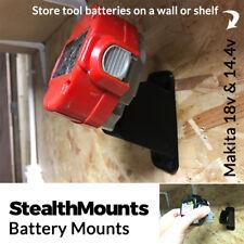 2x stealthmounts per Makita NiMH 18v 14.4v BATTERIA HOLDER MOUNT slot Muro Van