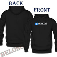 Sparco SP03100GR2M WWW Medium Grey Hooded Sweatshirt