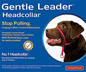 NEW BeauPets Gentle Leader Head Collar - Various Sizes & Colours