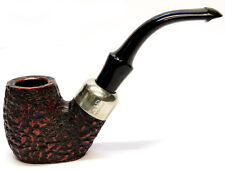 Peterson System Briar Pipe Rustic Finish Medium Flat Bottomed Free Pipe Tool 304