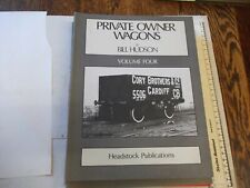 More details for private owner wagons volume 4  -  approximately 156 pages - pub.1987 - p/back