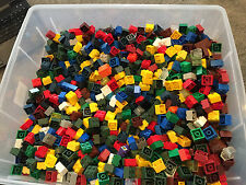 5 Pounds of 2x2 Bricks Mega Blok BTR Tyco and other Compatibles Non Lego Lbs