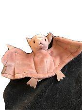 Ty Beanie Babies Batty The Brown Halloween Bat Retired