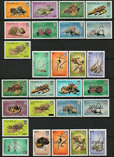 Tuvalu 1983 QEII Handicrafts & Official set of mint stamps to $5  MNH