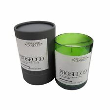 Prosecco - Scented Wine Bottle Candle Luxury Natural Handmade Home Scents Gift