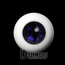 Dollmore BJD Doll Acrylic Eyes 26mm - OMeta Half Round Acrylic Eyes(Violet 03)