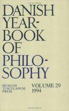 Danish Yearbook of Philosophy: v. 29 - Very Good Book