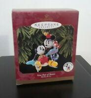 1997 New Pair Of Skates Mickey & Co. hallmark Keepsake Ornament New