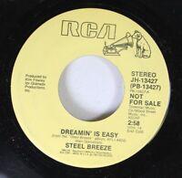 Rock Promo 45 Steel Breeze - Dreamin' Is Easy / Dreamin' Is Easy On Rca